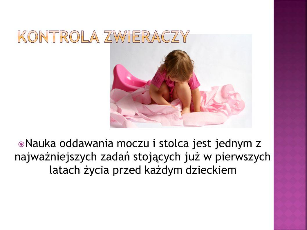 Nauka oddawania moczu i stolca jest jednym z najważniejszych zadań stojących już w pierwszych latach życia przed każdym dzieckiem