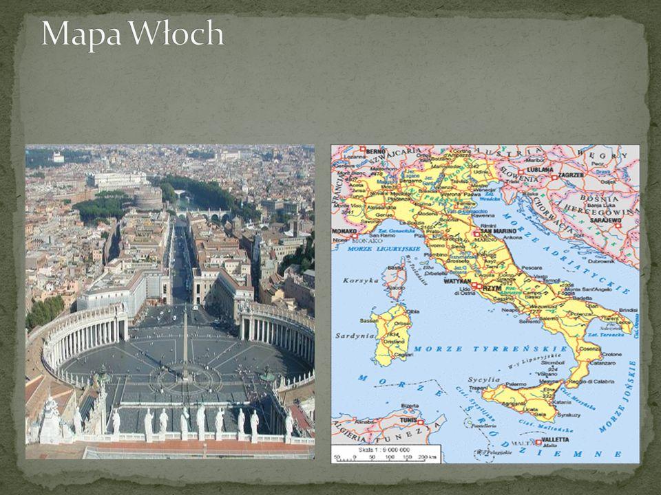 Włochy podzielone są na 20 regionów (5 z nich na prawach szczególnych), 95 prowincji (z których 2 autonomiczne) i 8092 komun.
