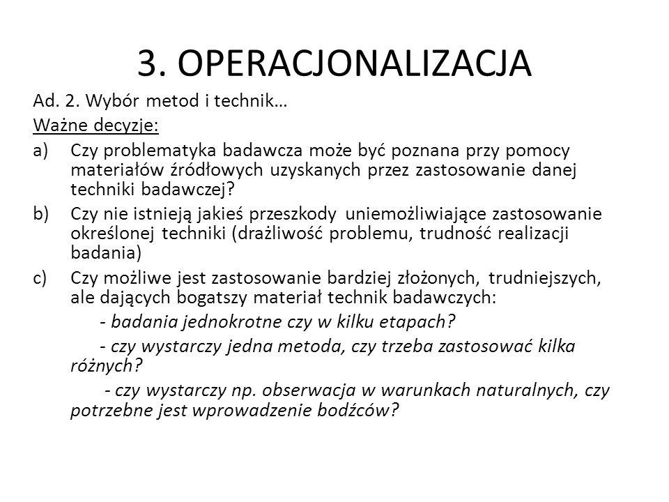 3.OPERACJONALIZACJA Ad. 2.