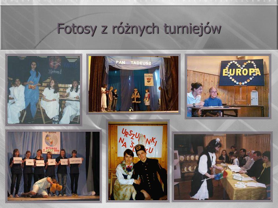 Fotosy z różnych turniejów