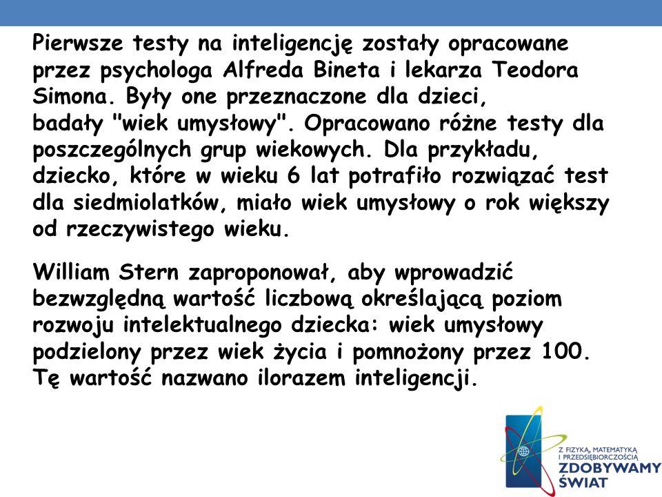 IQ Jak obliczamy swoją inteligencję? Iloraz inteligencji (IQ – od intelligence quotient) – wartość liczbowa testu psychometrycznego, którego celem jes