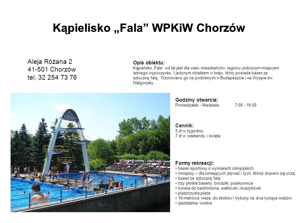 Basen kryty SP5 Chorzów Józefa Ryszki 55 41-516 Chorzów tel.