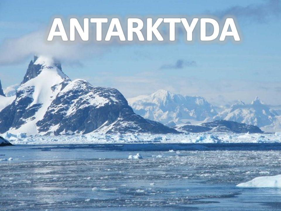 Antarktyda jest bezludna, jedynie na stacjach badawczych pracują sezonowo zmieniający się naukowcy.