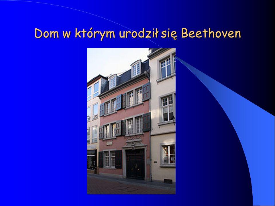 Dom w którym urodził się Beethoven