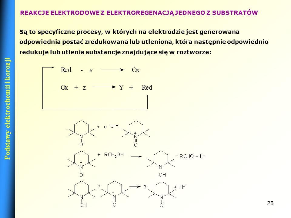 24 KATODOWE REAKCJE PRZYŁĄCZANIA Jako przykład takiej reakcji może posłużyć elektroredukcja ketonów, a dokładniej jedna z liwych dróg, któmożrą może z