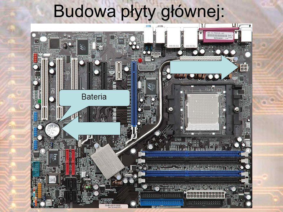 Budowa płyty głównej: Bateria