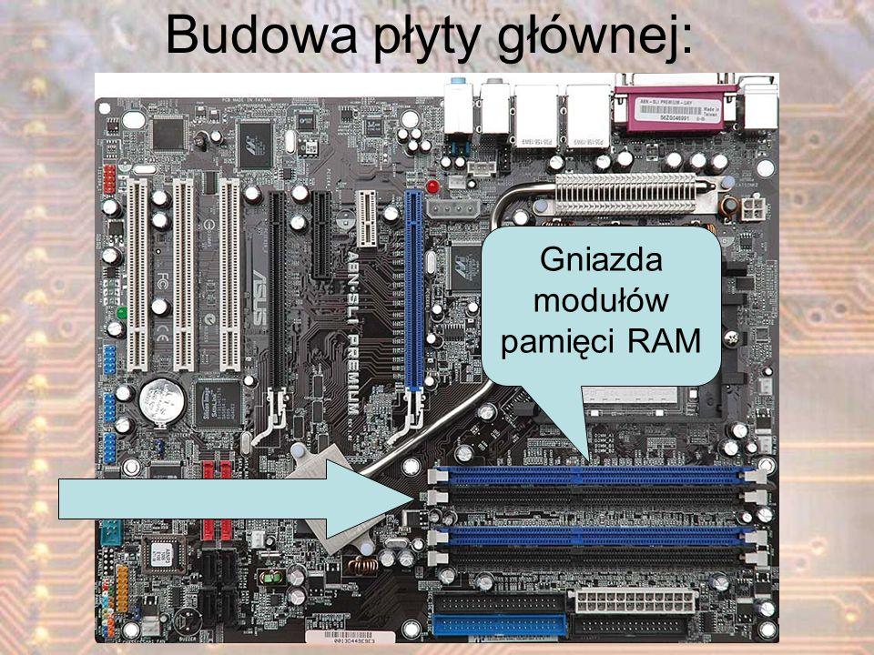 Gniazda modułów pamięci RAM