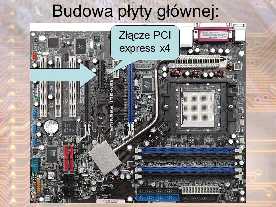 Budowa płyty głównej: Złącze PCI express x4
