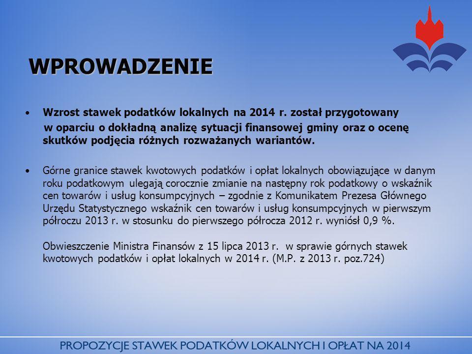 PODSTAWOWE ZAŁOŻENIA W zakresie opłat lokalnych proponuje się pozostawienie bez zmian w stosunku do roku 2013 stawek w: Opłacie uzdrowiskowej stawka dzienna osoba dorosła - 3,00 zł stawka dzienna dziecko do lat 7 - 1,50 zł Górna max.