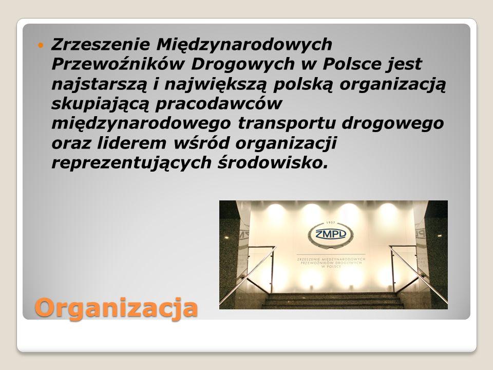 Organizacja Zrzeszenie Międzynarodowych Przewoźników Drogowych w Polsce jest najstarszą i największą polską organizacją skupiającą pracodawców międzyn