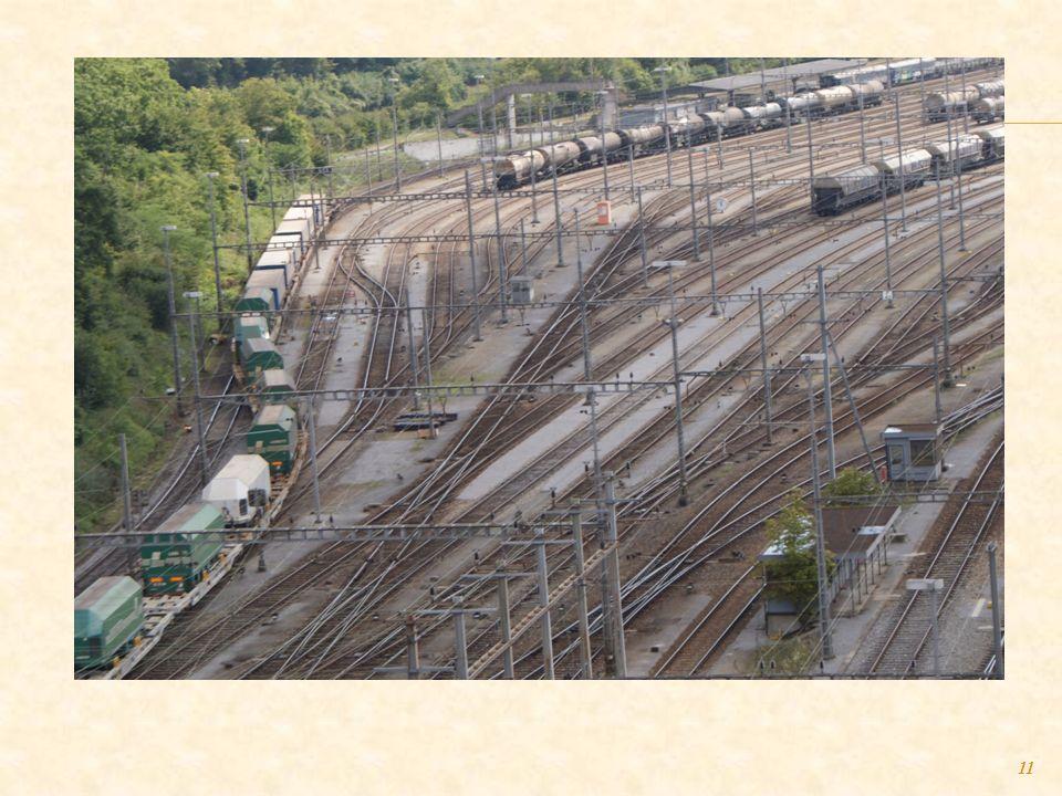 10 Odprawa towarów w terminalach przeładunkowych SBB-Cargo, m.in. zapoznanie się z zasadami i warunkami transportu kombinowanego przez Szwajcarię do E