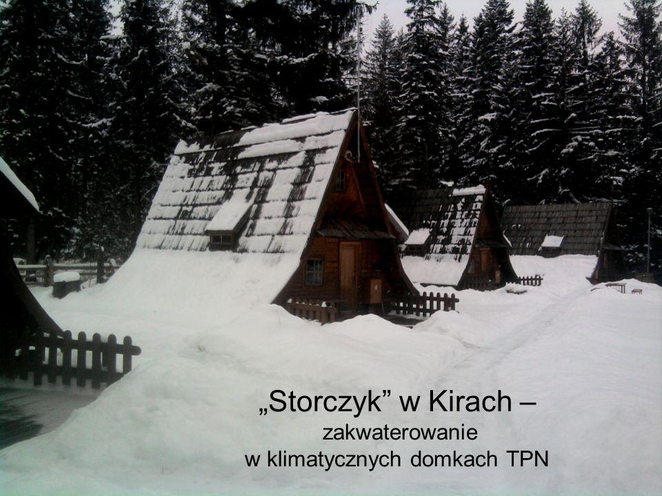Storczyk w Kirach – zakwaterowanie w klimatycznych domkach TPN