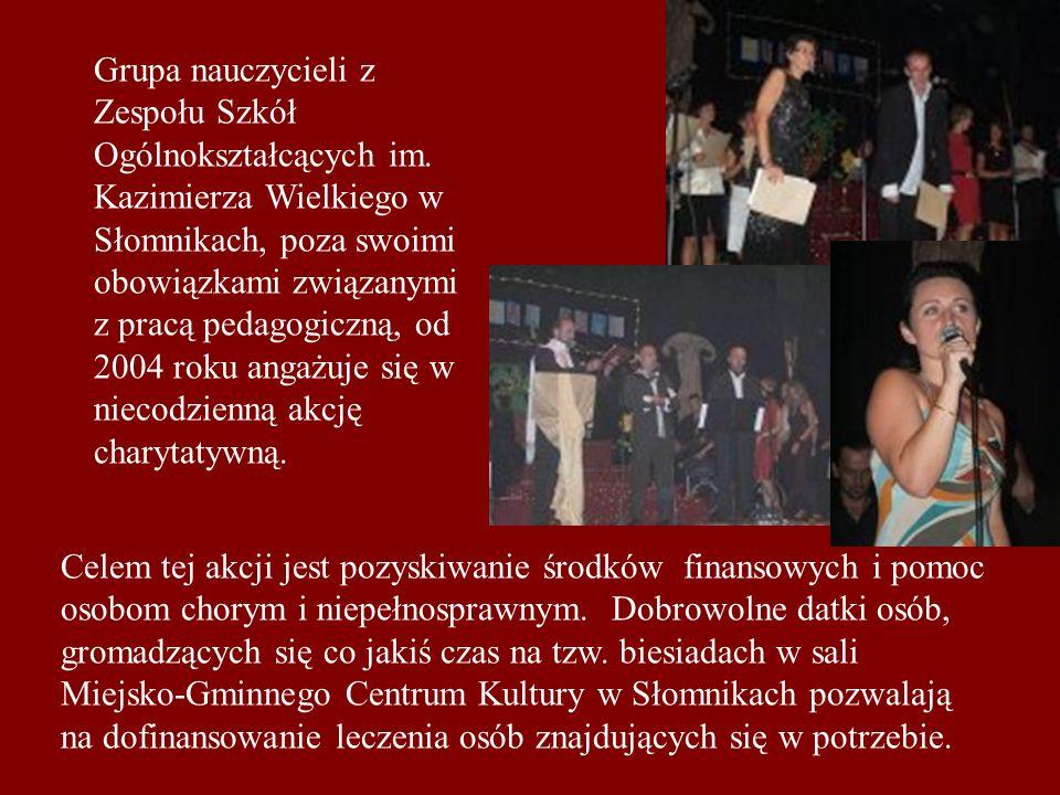 Grupa nauczycieli z Zespołu Szkół Ogólnokształcących im.