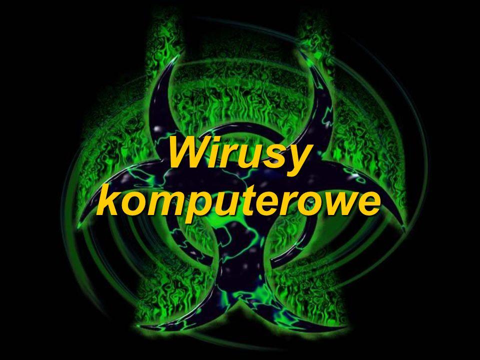 CHARAKTERYSTYKA WIRUSÓW KOMPUTEROWYCH: Wirusy komputerowe można scharakteryzować jako programy, które zostały celowo stworzone przez człowieka w celu utrudnienia pracy innym użytkownikom.