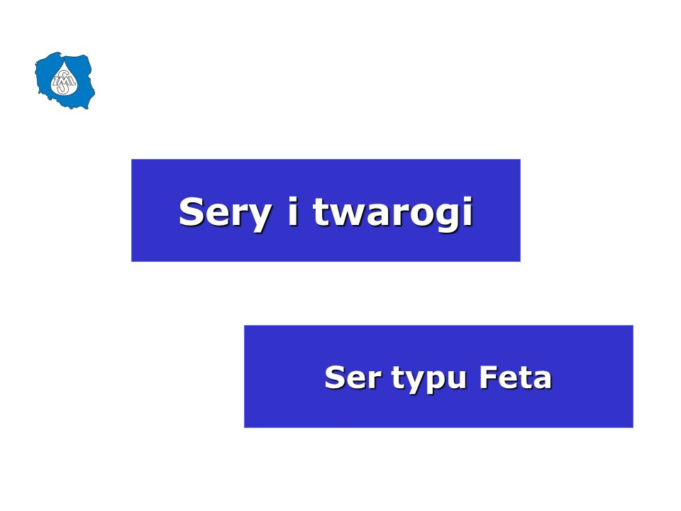 Sery i twarogi Ser typu Feta