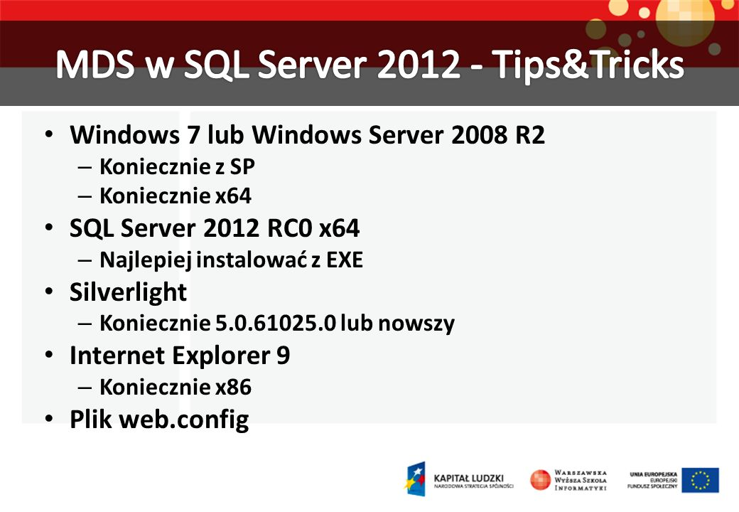 http://www.microsoft.com/sqlserver/en/us/solutions- technologies/data-warehousing/master-data-services.aspx http://www.microsoft.com/sqlserver/en/us/solutions- technologies/data-warehousing/master-data-services.aspx http://sqlblog.com/blogs/mds_team/ http://mdsutilities.codeplex.com/ http://blogs.adatis.co.uk/blogs/jeremykashel/ http://searchsqlserver.techtarget.com/tip/Loading-data-into-a- Master-Data-Services-repository http://searchsqlserver.techtarget.com/tip/Loading-data-into-a- Master-Data-Services-repository