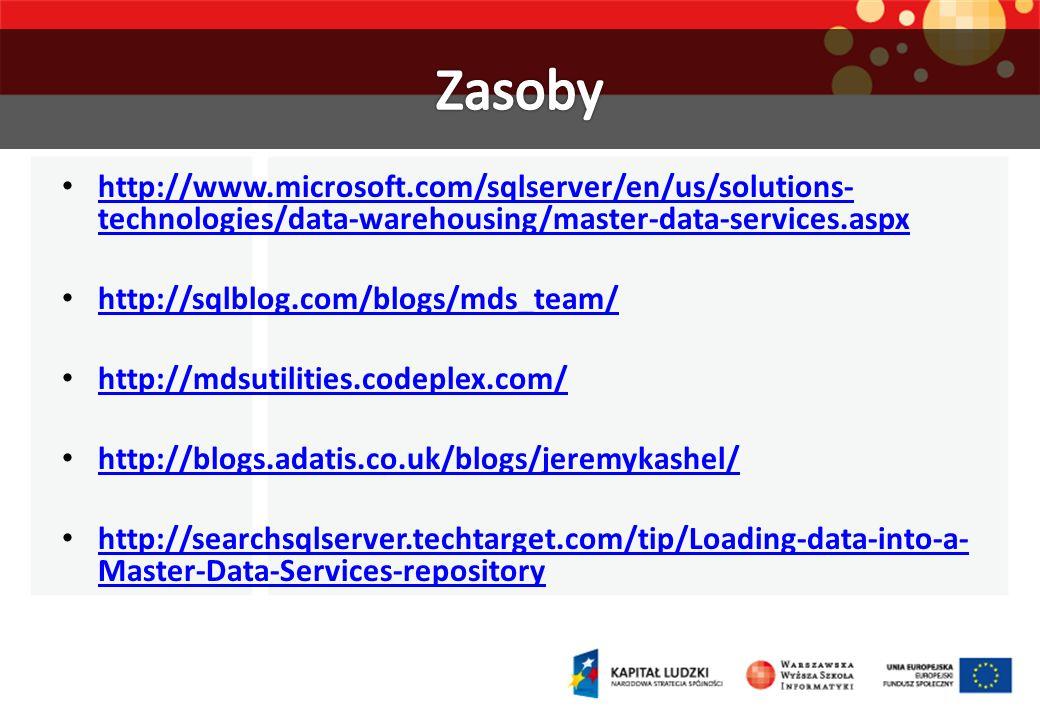 http://www.microsoft.com/sqlserver/en/us/solutions- technologies/data-warehousing/master-data-services.aspx http://www.microsoft.com/sqlserver/en/us/s