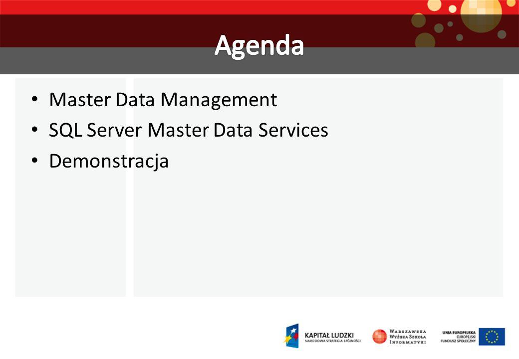 Master Data Management SQL Server Master Data Services Demonstracja