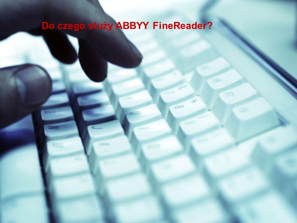 Do czego służy ABBYY FineReader?