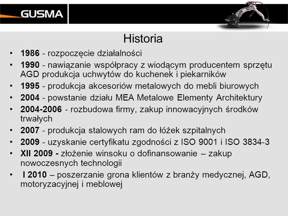 Zakład Lokalizacja w pobliżu Poznania przy głównej drodze krajowej Powierzchnia 1 300 m2 Teren do zagospodarowania w przyszłości – działka 18 000m2