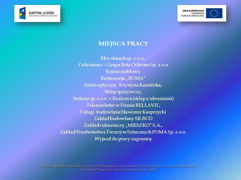 MIEJSCA PRACY Eko-oknach sp. z o.o., Ochroniarz – Grupa Beta Ochrona Sp.