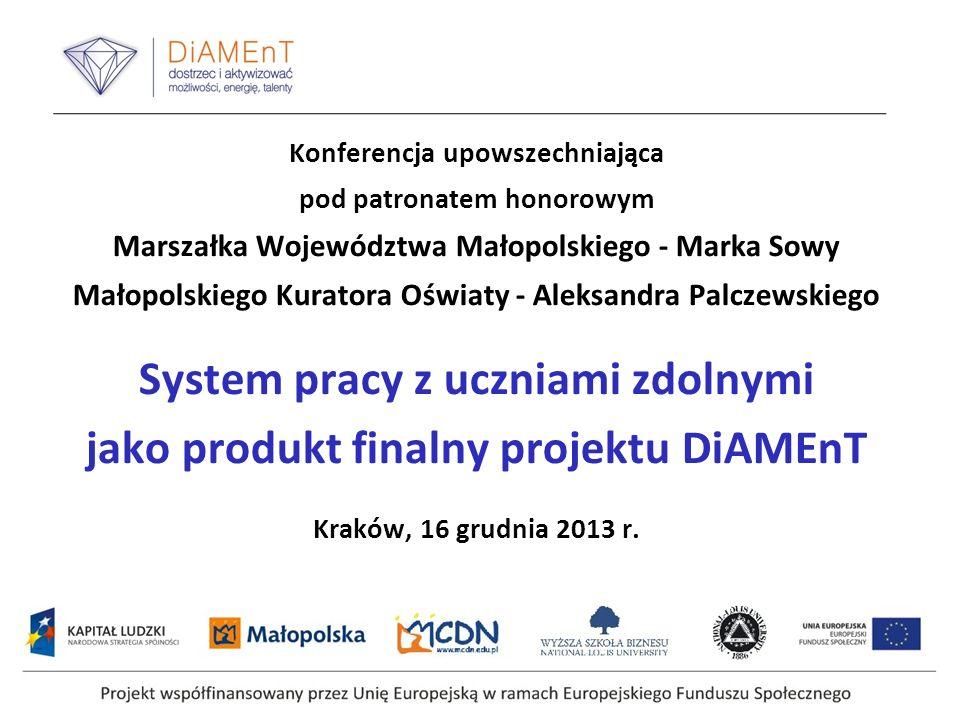 DiAMEnT jako projekt innowacyjny - specyfika i cele projektu