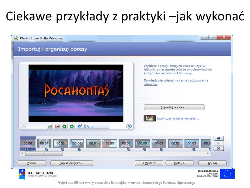 Ciekawe przykłady z praktyki http://www.classtools.net/mob/quiz_24/Infor matyka_3BOU0.htm http://www.classtools.net/mob/quiz_24/Infor matyka_3BOU0.htm http://www.classtools.net/mob/quiz_80/Histo ria_bjfJ5.htm http://www.classtools.net/mob/quiz_80/Histo ria_bjfJ5.htm