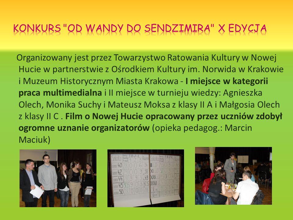 Organizowany jest przez Towarzystwo Ratowania Kultury w Nowej Hucie w partnerstwie z Ośrodkiem Kultury im. Norwida w Krakowie i Muzeum Historycznym Mi