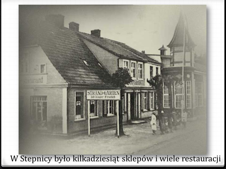 Ulica Lipowa, w latach 1933-1945 Adolf Hitler Strasse