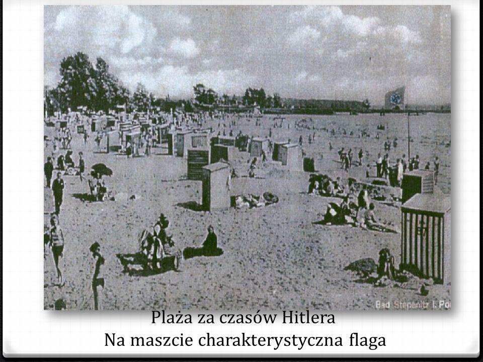 Na stepnickiej plaży jednorazowo mogło wypoczywać nawet 8 tys. osób