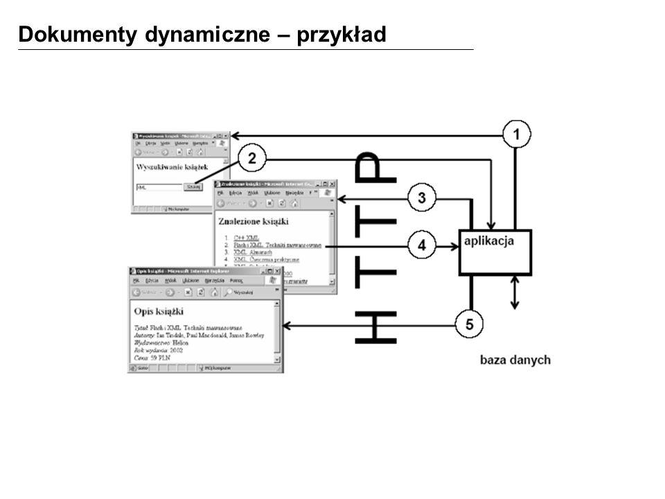 Dokumenty dynamiczne – przykład