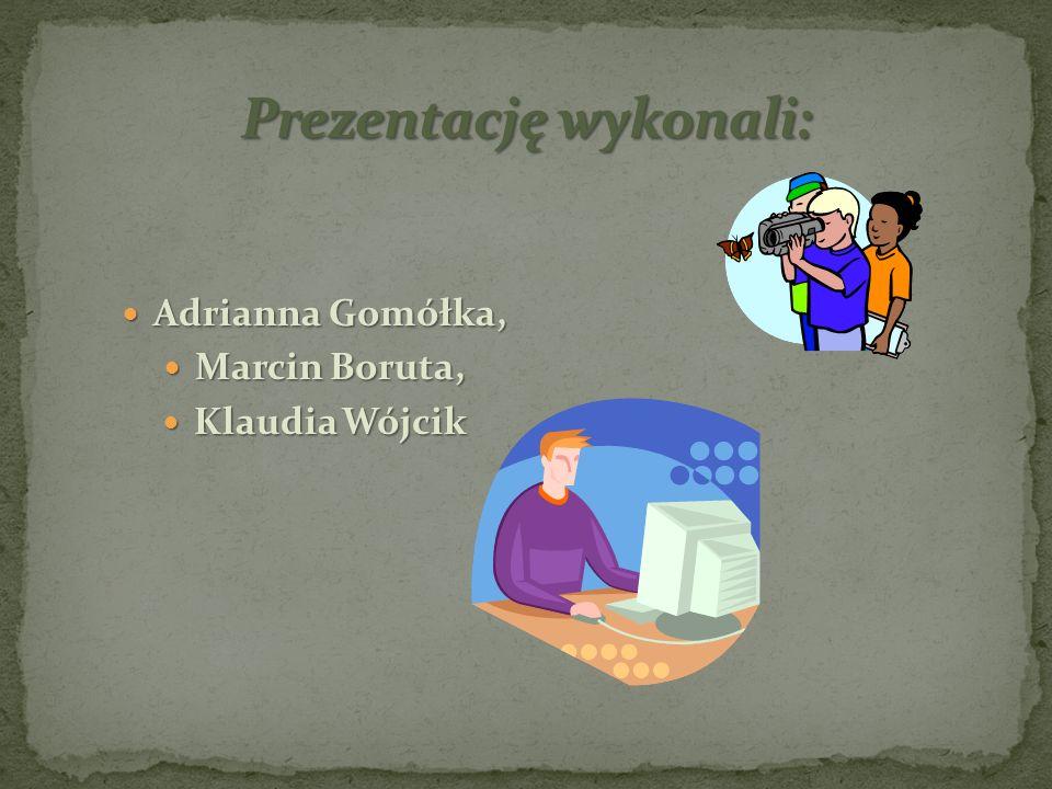 Adrianna Gomółka, Adrianna Gomółka, Marcin Boruta, Marcin Boruta, Klaudia Wójcik Klaudia Wójcik