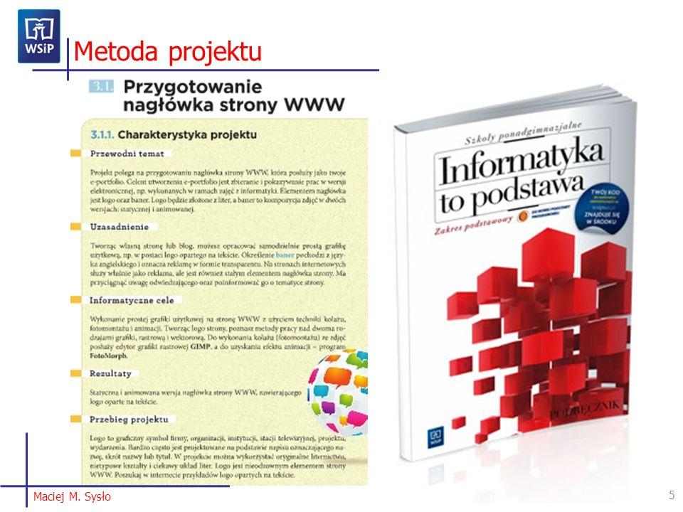 5 Metoda projektu