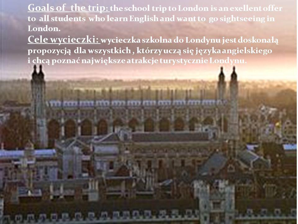 The second day of sightseeing in London.Drugi dzień zwiedzania w Londynie.
