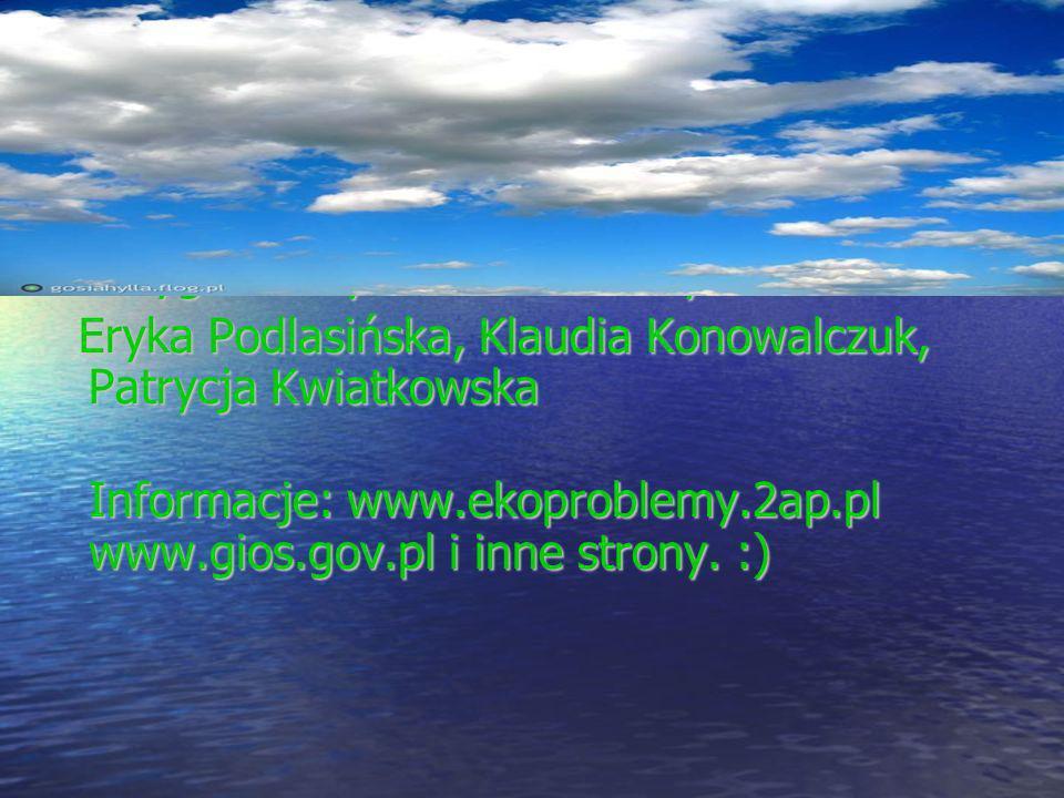 Koniec Przygotowały uczennice klasy 2a – Eryka Podlasińska, Klaudia Konowalczuk, Patrycja Kwiatkowska Eryka Podlasińska, Klaudia Konowalczuk, Patrycja