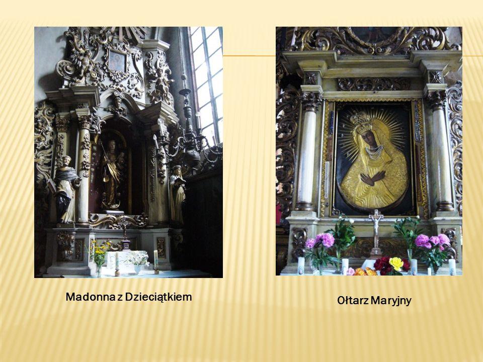 Madonna z Dzieciątkiem Ołtarz Maryjny