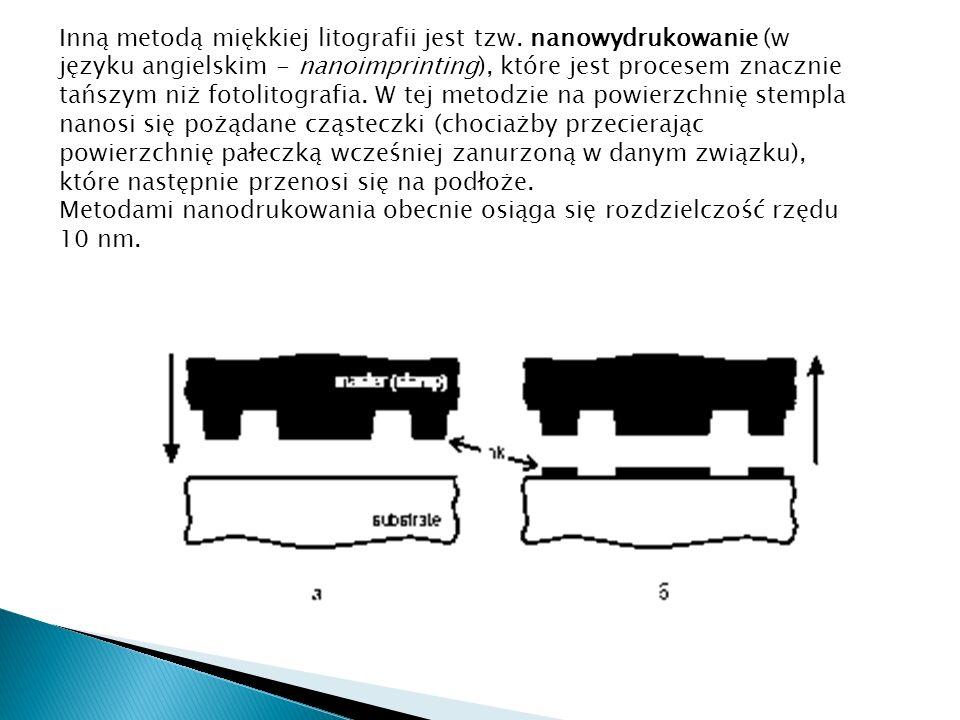 Inną metodą miękkiej litografii jest tzw.