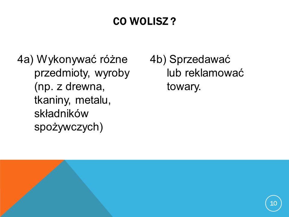 11 CO WOLISZ .5a) Uczyć się języka obcego, tłumaczyć teksty.
