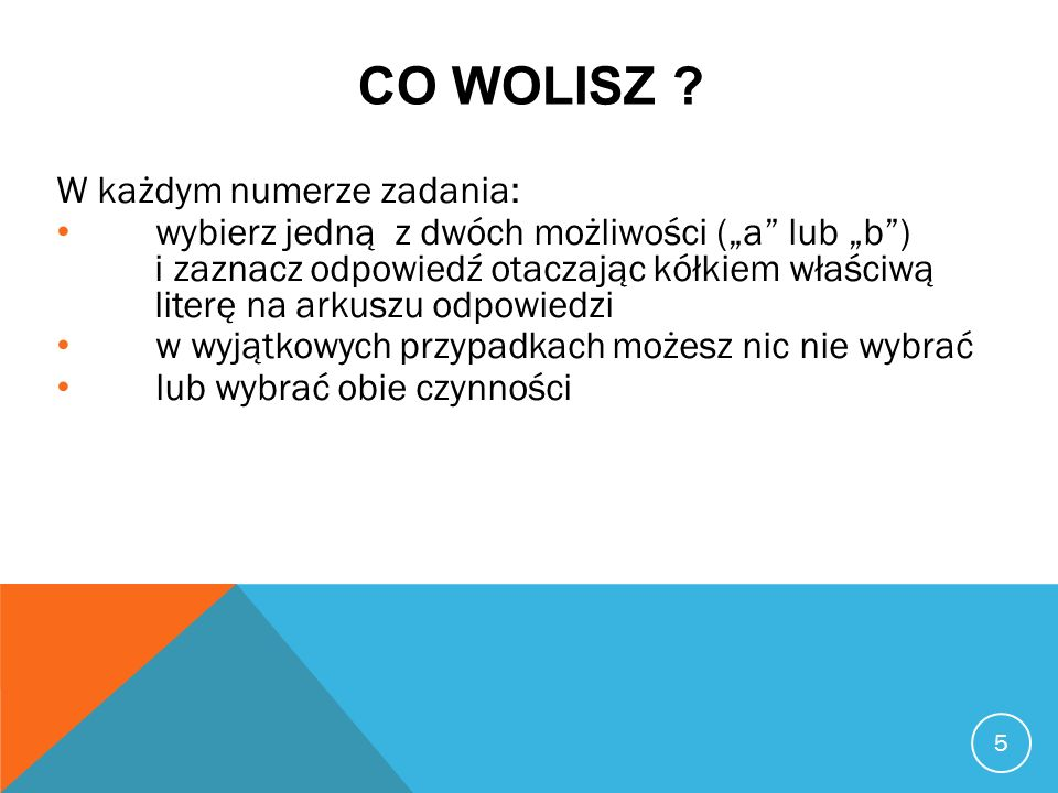 CO WOLISZ .