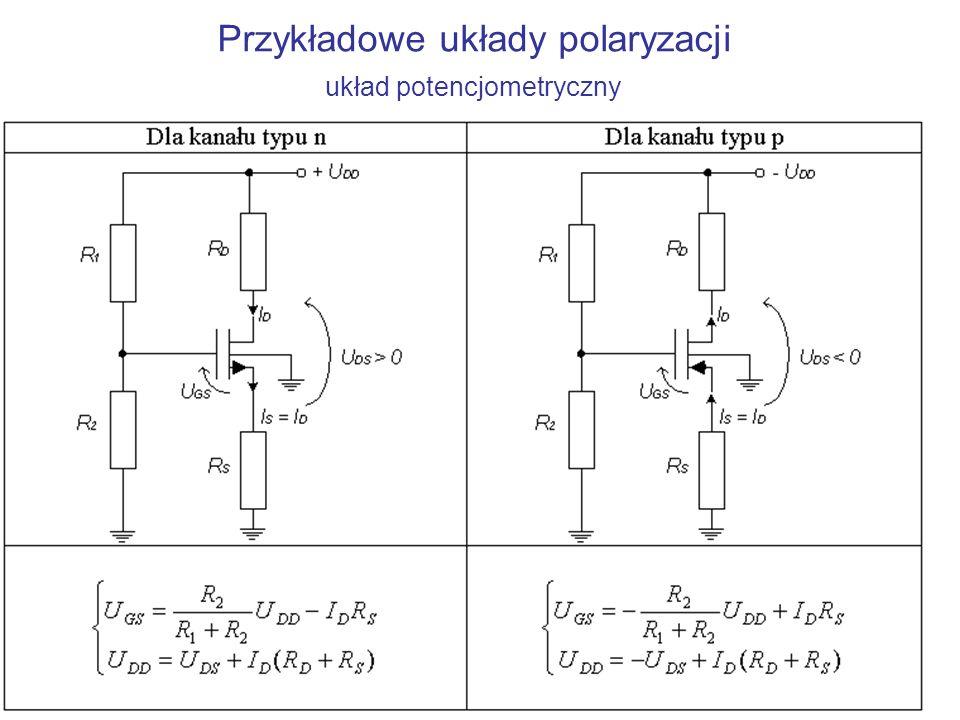 Zasada działania tranzystora MOSFET Tranzystory MOSFET mają czwartą elektrodę – podłoże, oznaczone symbolem B.