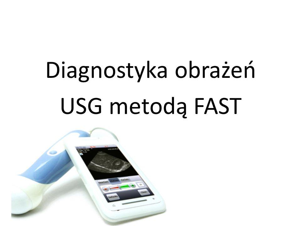 Diagnostyka obrażeń USG metodą FAST