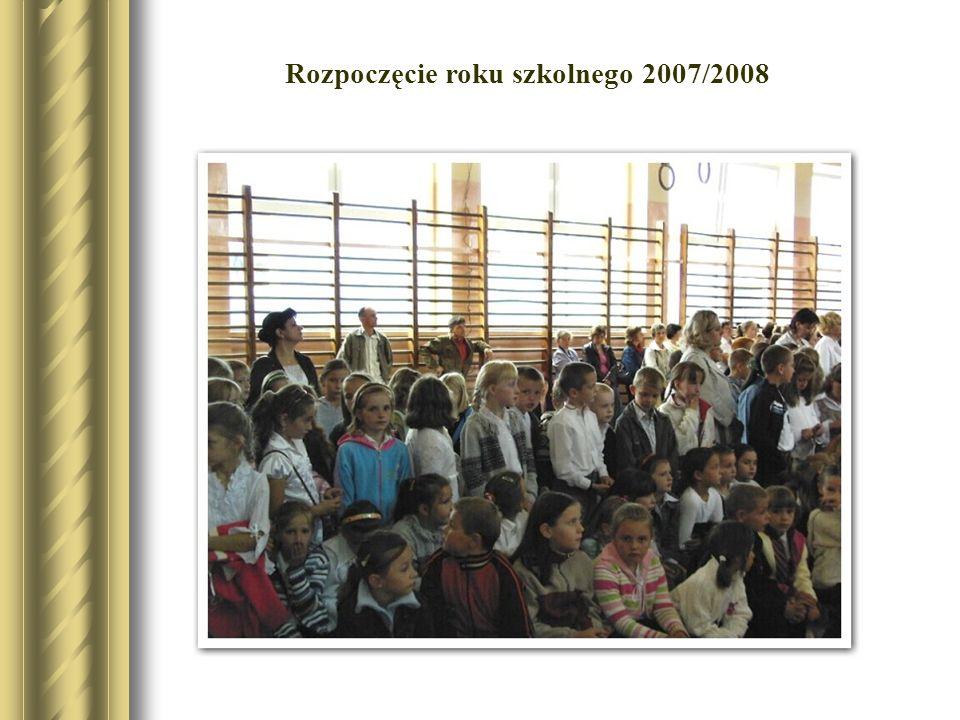 . Rozpoczęcie roku szkolnego 2007/2008