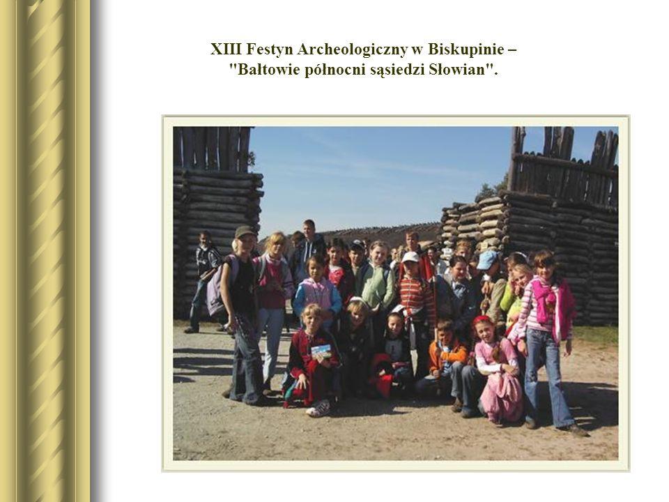 XIII Festyn Archeologiczny w Biskupinie –