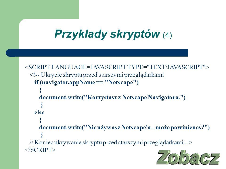 Przykłady skryptów (4)