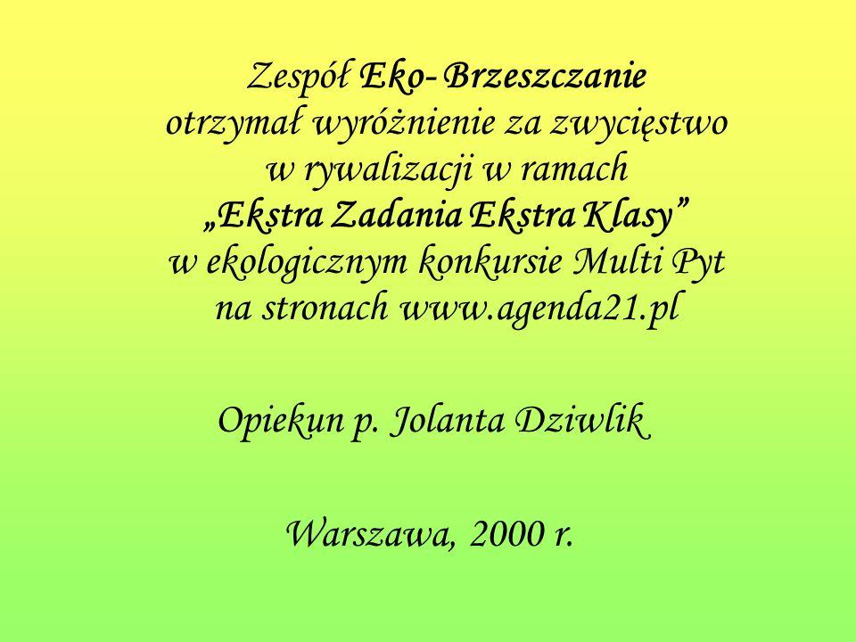 Natalia Pydyn finalistka Małopolskiego Konkursu z Biologii dla gimnazjalistów w roku szkolnym 2007/ 2008 Opiekun p.