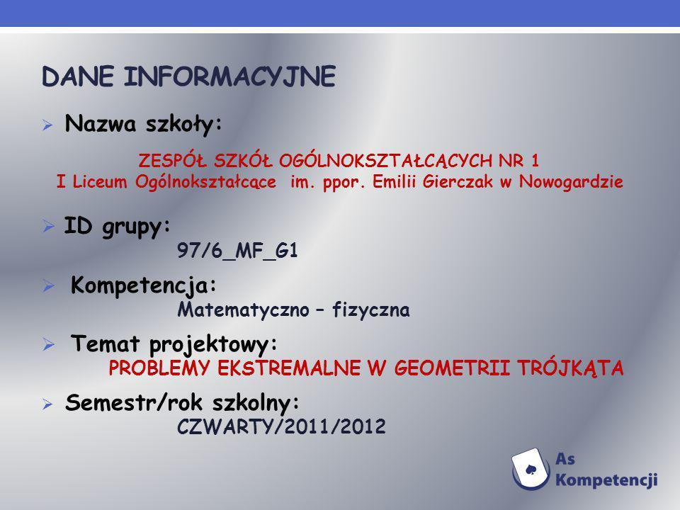 ZSO NR 1 – NOWOGARD 1.Marlena Glanc 2.Weronika Kaczmarek 3.