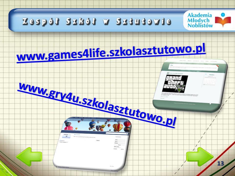 www.games4life.szkolasztutowo.pl www.games4life.szkolasztutowo.plwww.games4life.szkolasztutowo.pl www.gry4u.szkolasztutowo.pl www.gry4u.szkolasztutowo.plwww.gry4u.szkolasztutowo.pl 13