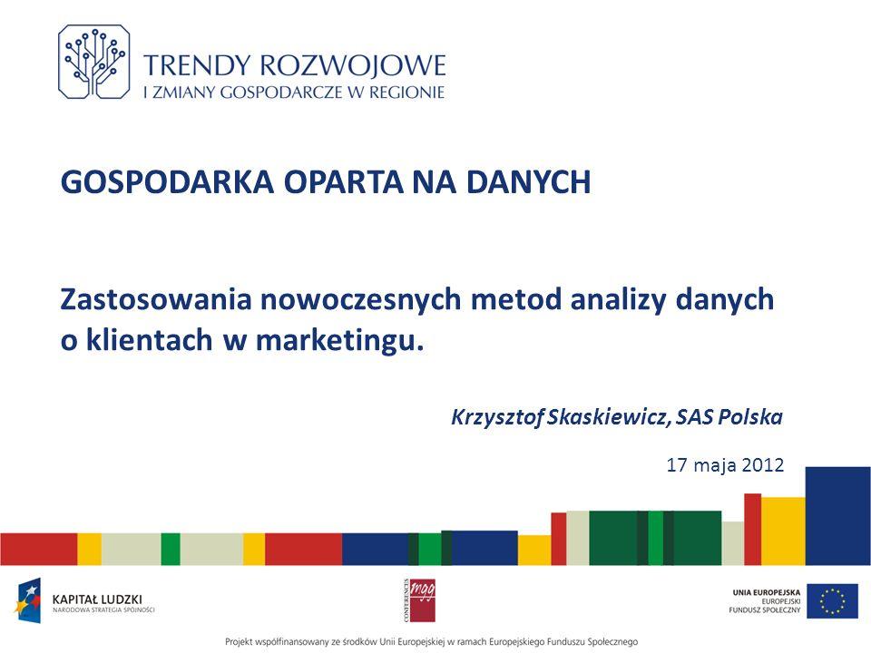 Dziękuję za uwagę Krzysztof.Skaskiewicz@sas.com -12-