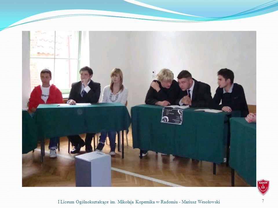 REALIZACJA PROGRAMÓW I PROJEKTÓW Wystawa fotografii przed Urzędem Miejskim z okazji jubileuszu 80-lecia szkoły – 2-15.10.2010r.