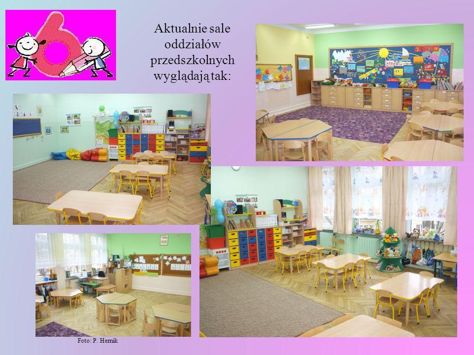 Obecnie w naszej szkole jest oddział przedszkolny 5-latków i oddział przedszkolny 6-latków czyli szkolne 0. Sale, które teraz zajmowane są przez oddzi
